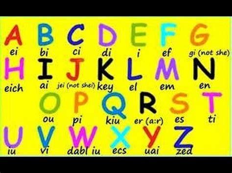 Abecedario en inglés con pronunciación musical.English ...