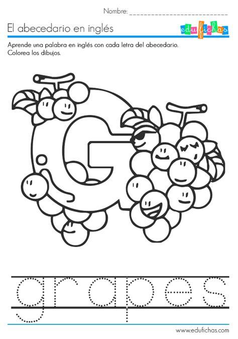 abecedario en ingles letra g | Ingles | Pinterest ...