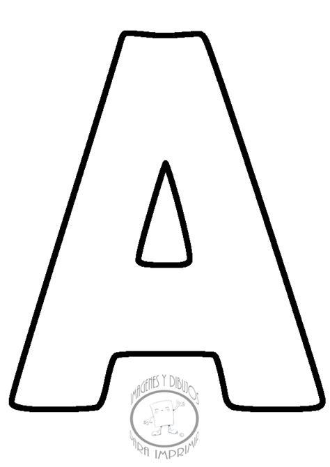 Abecedario para imprimir letra por letra | Imagenes y ...