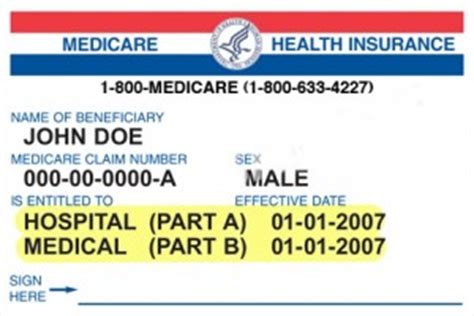 About My Medicare Card