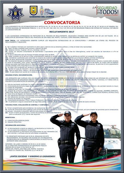 Abren convocatoria para reclutar nuevos Policías ...
