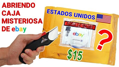 Abriendo Caja Misteriosa de Ebay de ESTADOS UNIDOS de $15 ...