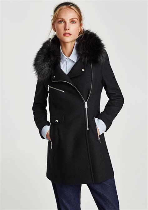 Abrigo de pelo de zara – Chaquetas de invierno 2018