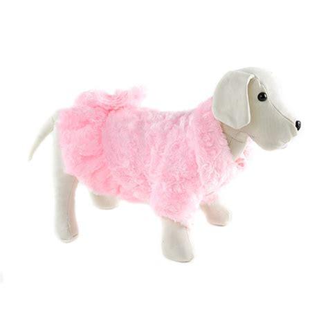 Abrigo rosa con pompones para perros - Tiendanimal