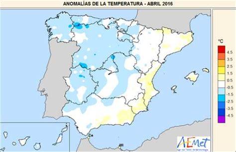 Abril, muy húmedo y normal en temperaturas - Agencia ...