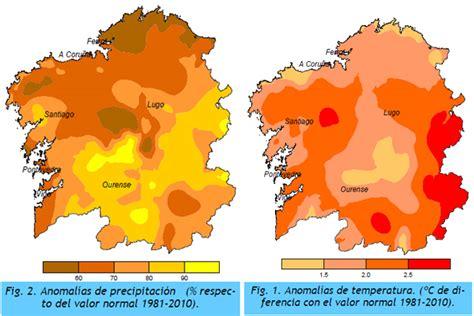 Abril resultó un mes cálido y seco en Galicia