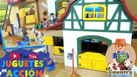 ¡ABRIMOS la Playmobil COUNTRY GRANJA DE PONIS!   PLAYMOBIL ...