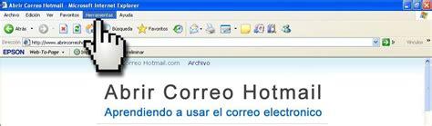 Abrir Correo Hotmail Configurando el Nivel de Seguridad de ...