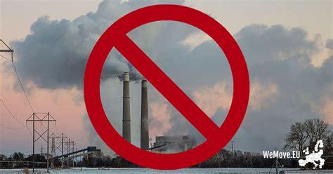 Acabemos con la contaminación ambiental en Europa
