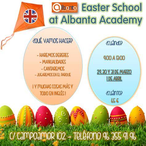 Academia Albanta   Escuela de Pascua 2016