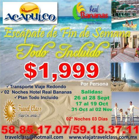 ACAPULCO $1999 TODO INCLUIDO AGENCIA VIAJES TRAVEL CLASS