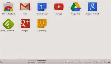 Acceso directo para aplicaciones de Google Chrome ~ Techno ...