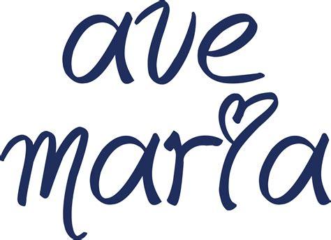 accesorios Ave Maria