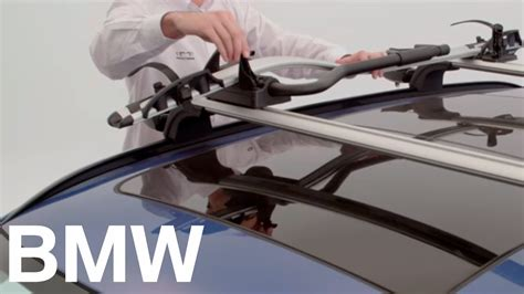 Accesorios Originales BMW: Portabicicletas de techo   YouTube