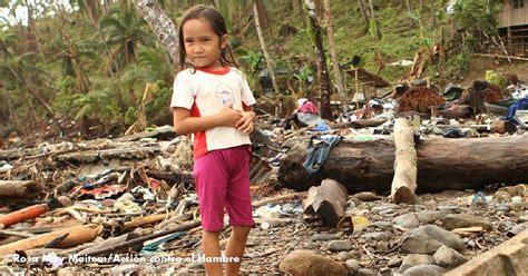 Acción contra el Hambre contra la desnutrición en Filipinas