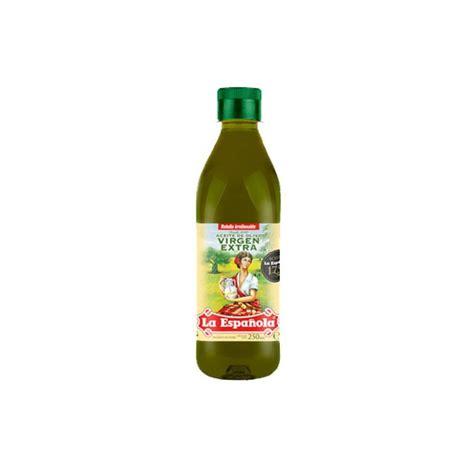 Aceite de oliva virgen extra La Española 250 ml ...
