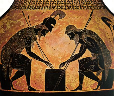 Achilles And Ajax Playing Dice | www.pixshark.com   Images ...