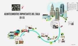 ACONTECIMIENTOS IMPORTANTES DEL SIGLO XV-XX by Pamela ...