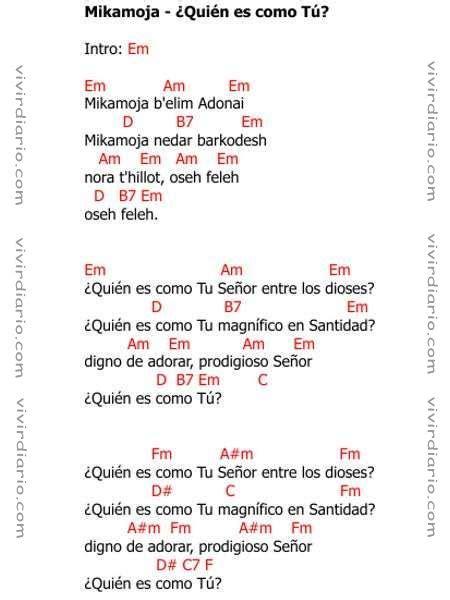 Acordes de la canción Mikamoja - Adam Ben Joshua, Para ...