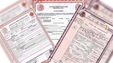 Actas de registro civil en el extranjero » Eje Central