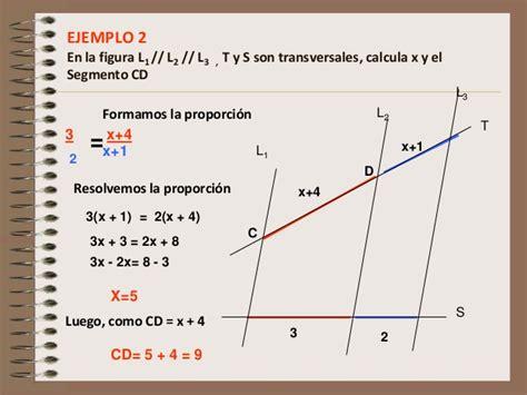 Actividad 1 teorema de thales