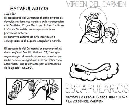 Actividades del Día de la Vírgen del Carmen para imprimir ...
