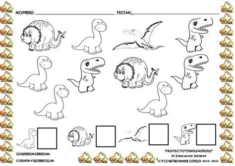 Actividades para niños de preescolar de dinosaurios   Imagui