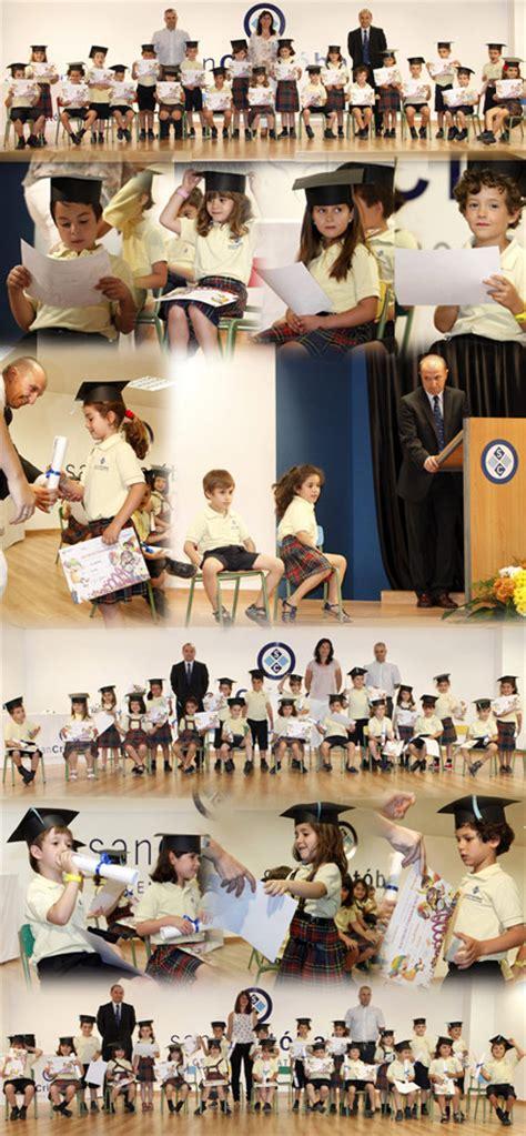 Acto de graduación infantil en el colegio San Cristóbal ...