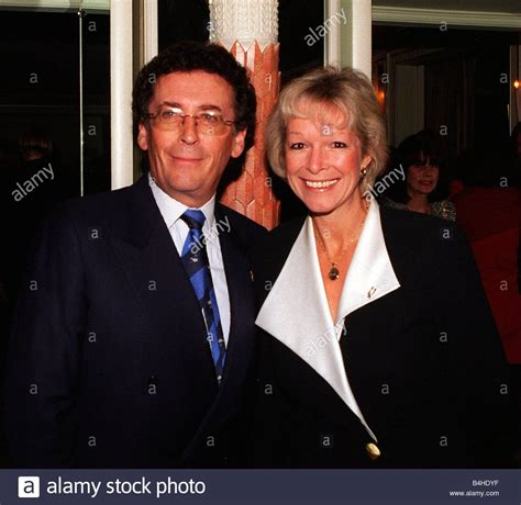Actor Robert Powell with wife Barbara October 1997 At the ...