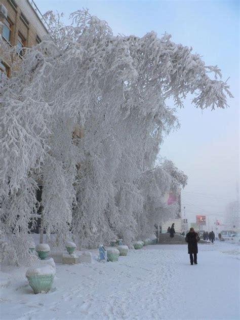 ACTUAL Y CURIOSO: Verkhoyansk, el lugar mas frío del planeta
