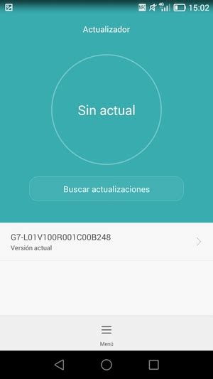 Actualice el software - Huawei Ascend G7 - Android 4.4 ...
