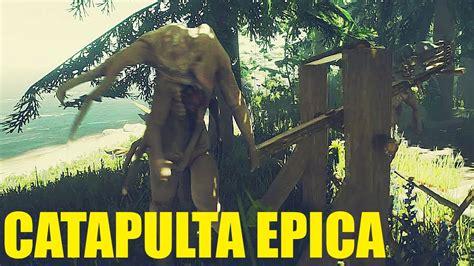 Actualización THE FOREST #75   CATAPULTA Vs MUTANTES ...