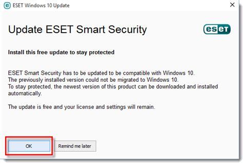 Actualizar a Windows 10 con un producto ESET instalado ...