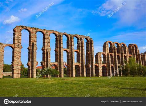 Acueducto Los Milagros Merida Badajoz aqueduct — Foto de ...