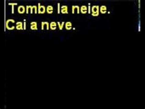 Adamo - tombe la neige - letra e tradução - classicos da ...