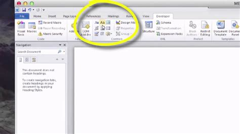 ADD CHECK BOX MICROSOFT WORD - YouTube