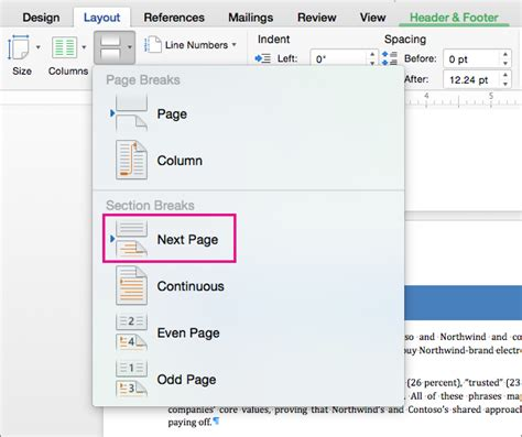 Add different page numbers or number formats to different ...