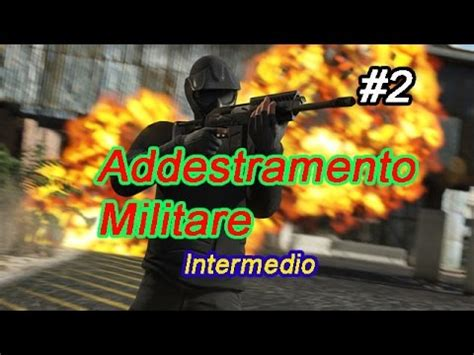 Addestramento Militare   Corso Intermedio   GTA Online ...