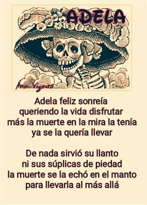 Adela. Calaverita 2015 | Día de los Muertos | Pinterest ...