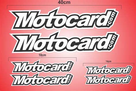 Adesivo Moto Motocard Speed Decals Colante   R$ 49,90 em ...