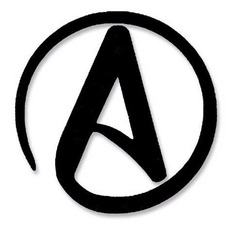 Adesivo Simbolo Ateísmo Ateísta Gr Evolua Com Frete Gratis ...