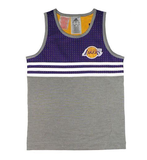 Adidas NBA Camiseta Niño L.A Lakers Winter Hoops  purpura ...