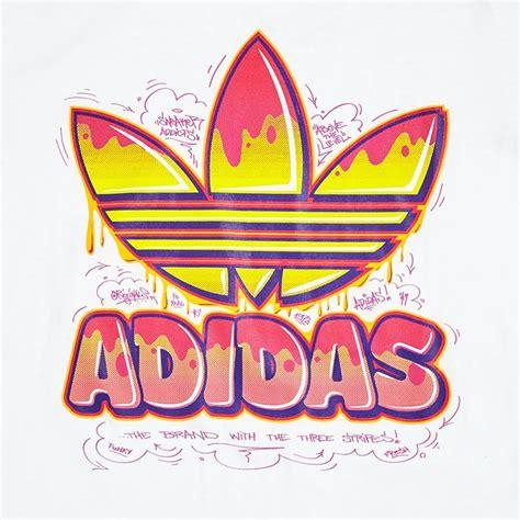 Adidas Originals Men Tee T-Shirt Adidas Logo in Black Blue ...