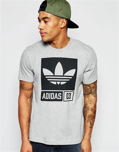 Adidas originals T-shirt With Street Graphic Aj7717 in ...