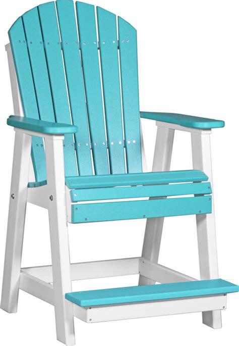 Adirondack Balcony Chair   Ohio Hardwood Furniture