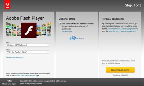 Adobe Flash Player Free Download For Windows 7 64 Bit ...
