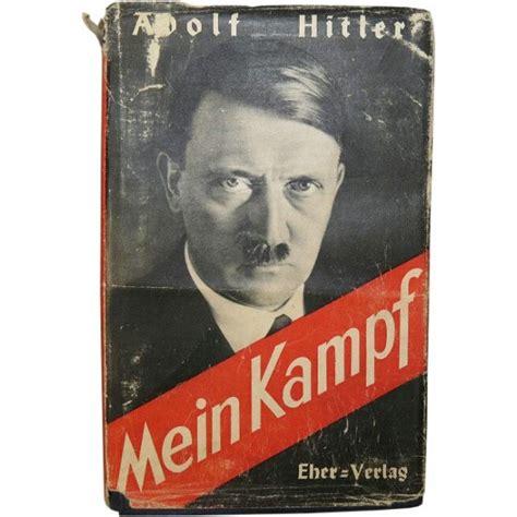 Adolf Hitler  Mein Kampf. Original issue, 721 725 Auflage ...