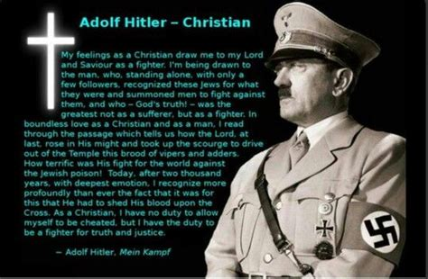 Adolf Hitler (Mein Kampf) (Quote) #zionist | Amazing ...