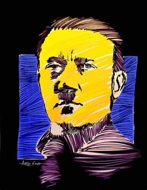Adolf Hitler Poster by Real ARTIST SINGH
