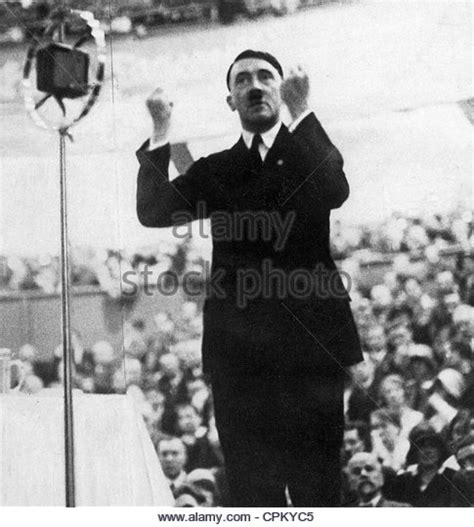 Adolf Hitler Speech Stock Photos & Adolf Hitler Speech ...